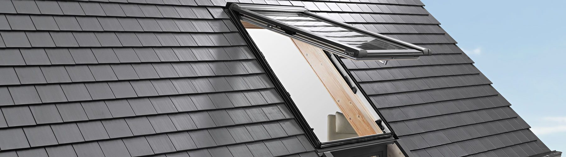 Fenêtre de toit en slide