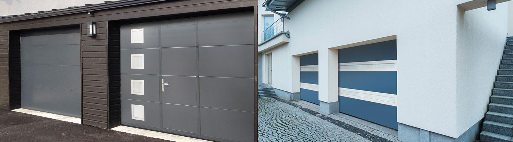 Portes de garages slide
