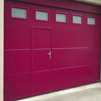 Porte de garage Sans rainure