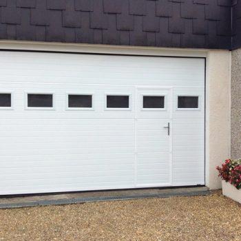 Porte de garage Tablier Rainuré