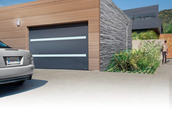 Porte de garage Visio-panoramique la-toulousaine