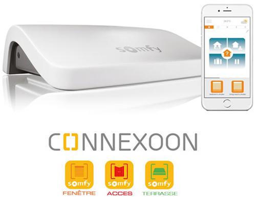 Connecté = Via application Smartphone ou internet